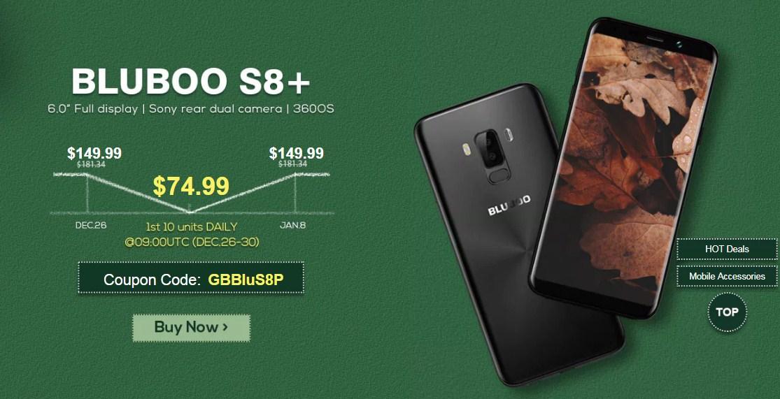 Найкращий подарунок під ялинку це смартфон Bluboo