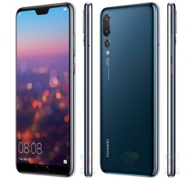 Huawei P20 Pro отримав приголомшливий колір забарвлення