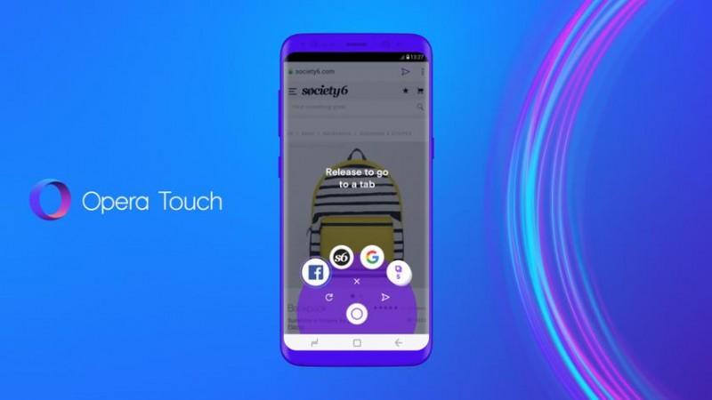 Opera представила новий мобільний браузер Touch
