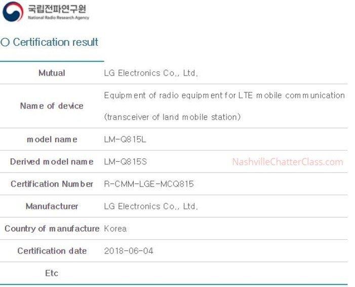 LG готує до виходу смартфон LG Q8 +