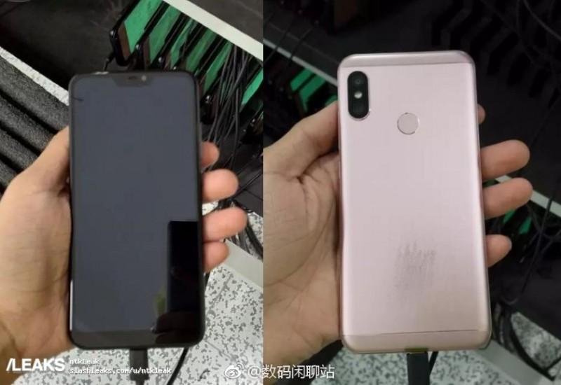 Смартфон Xiaomi з вирізом на екрані знову з'явився на «живих» фото