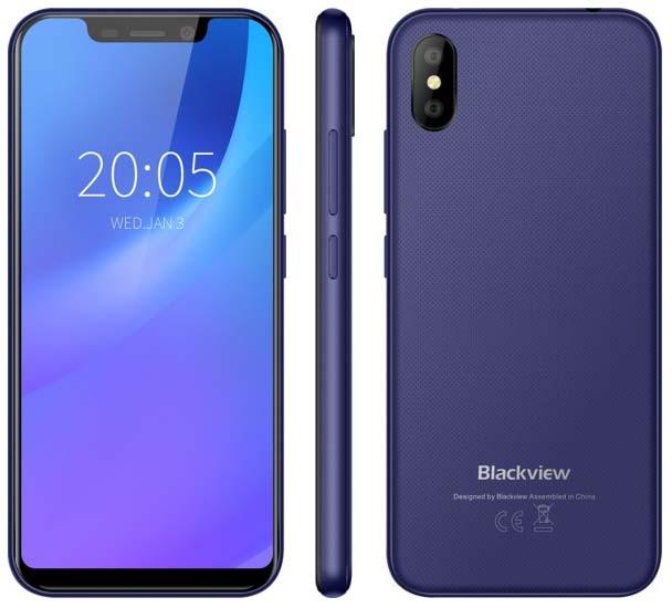 Представлений доступний смартфон Blackview A30 за $ 70