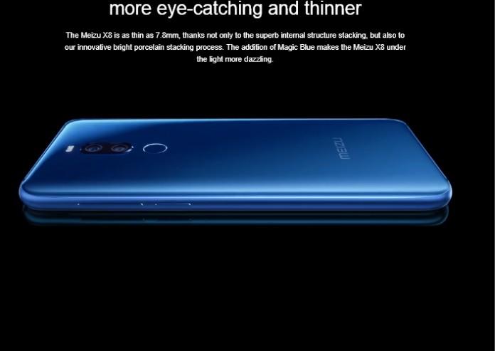 Анонс Meizu X8: перший смартфон Meizu з вирізом на екрані