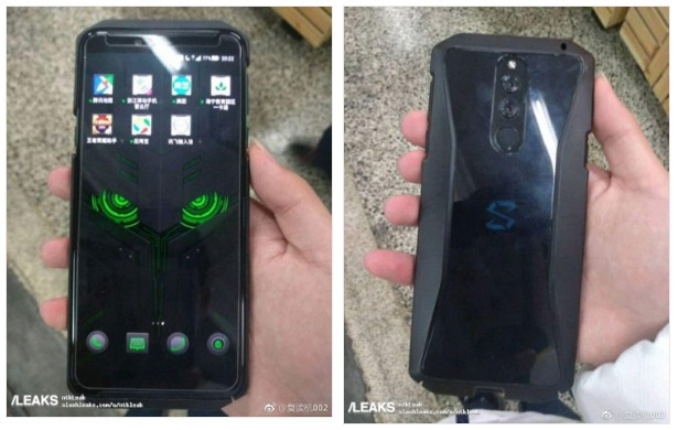 Xiaomi Black Shark 2 на фотографіях з двох сторін, і технічні характеристики