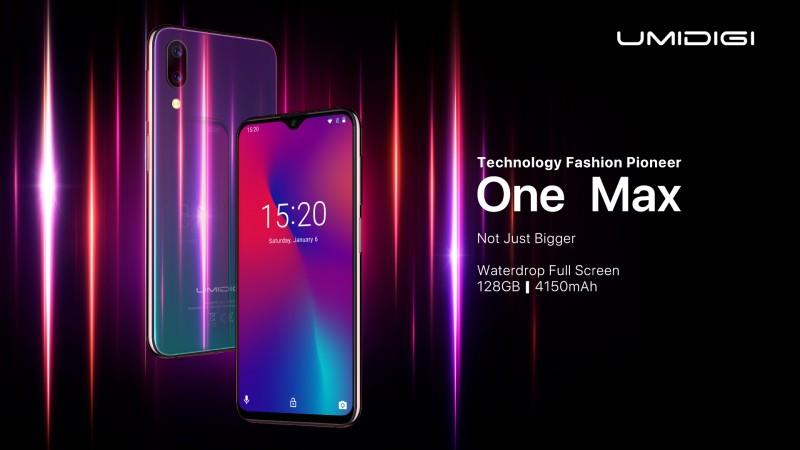 Смартфон із ємним акумулятором та безрамковим екраном за $180 - Umidigi One Max