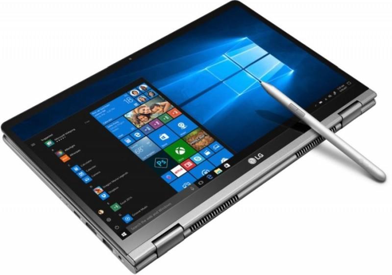 Трансформер LG Gram 2-in-1 із 14-дюймовим екраном має вагу у 1,140 кг