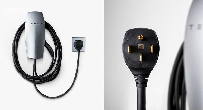 Tesla випустила компактний зарядний пристрій для електромобіля