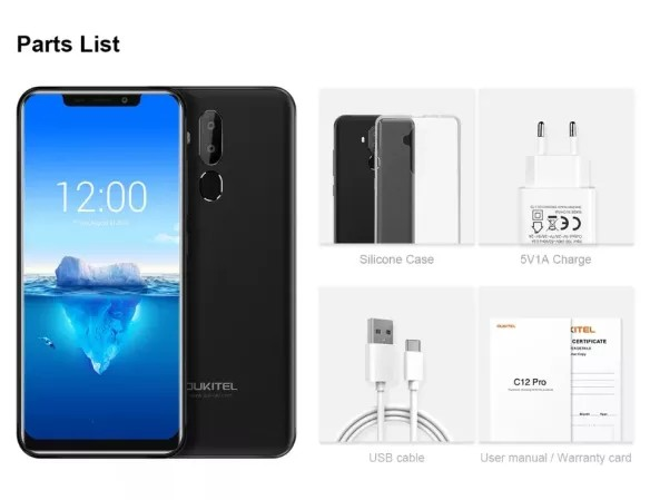 Дешевий смартфон Oukitel C13 Pro отримав Android 9.0 Pie