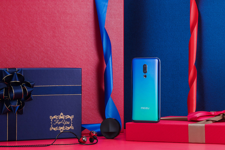 Смартфон Meizu 16th Plus Sound Color Edition отримав комплект з «подарунками»