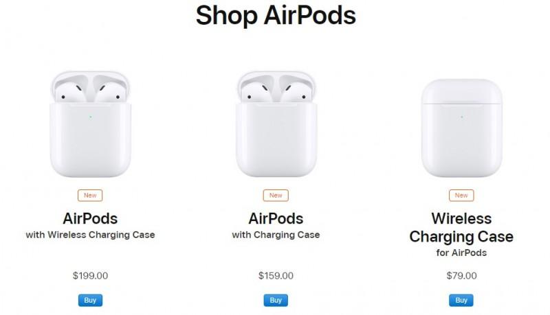 Apple представила бездротові навушники AirPods 2 за неймовірну ціну