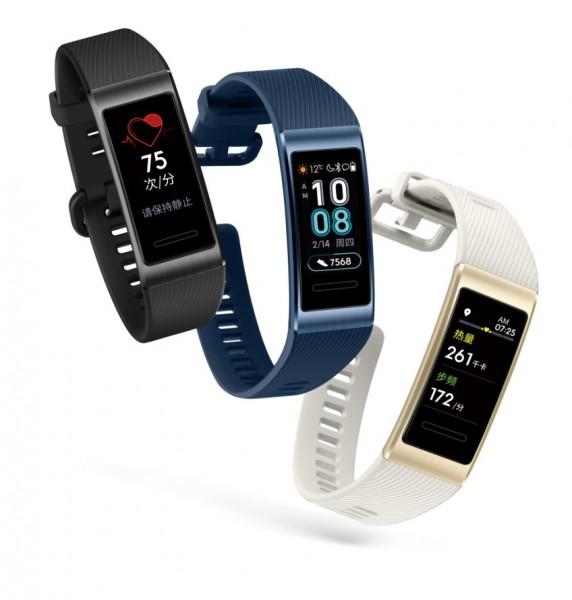 Розумні браслети Huawei Band 3 і Band 3 Pro надійшли в продаж
