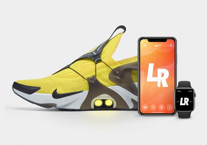 У нових кросівках Nike можна затягувати шнурки за допомогою Siri