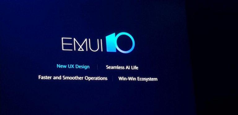 Huawei анонсувала оболонку EMUI 10