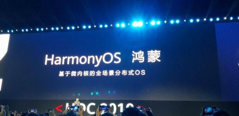 Huawei представила операційну систему HarmonyOS