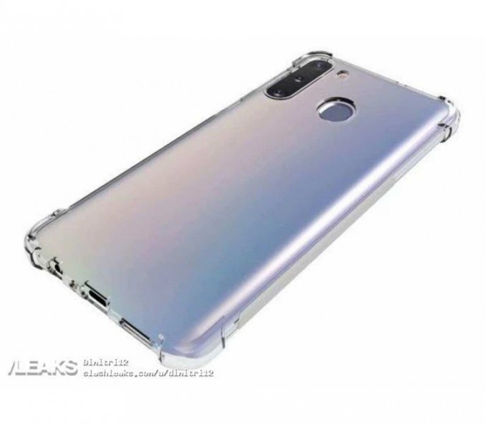 Бюджетний Samsung Galaxy A21 показали на перших зображеннях