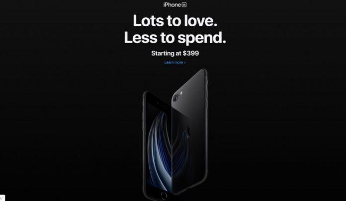 Apple таємно випустила сьогодні iPhone SE 2020