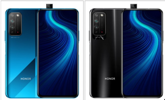Представлено Honor X10 - недорогий 5G-cмартфон з висувною фронтальною камерою