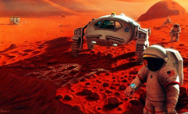 Встановлено необхідну для колонізації Марсу кількість людей