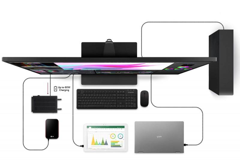 LG 43UN700 - величезний 42,5-дюймовий монітор 4K UHD з USB Type-C