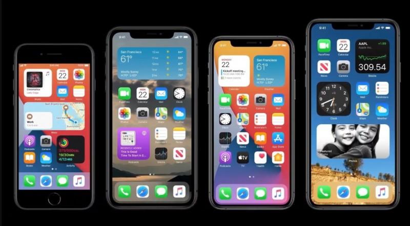 Apple представила iOS 14 з віджетами на робочому екрані