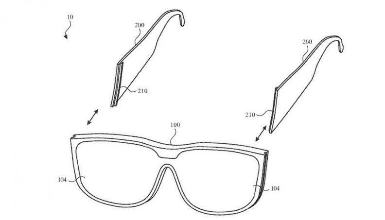 За чутками, окуляри Apple Glass отримають модульні дужки