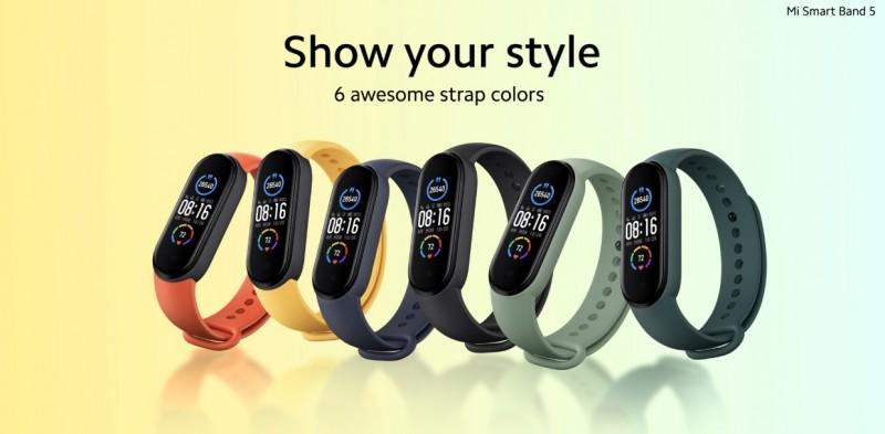 Xiaomi представила глобальну версію Mi Smart Band 5