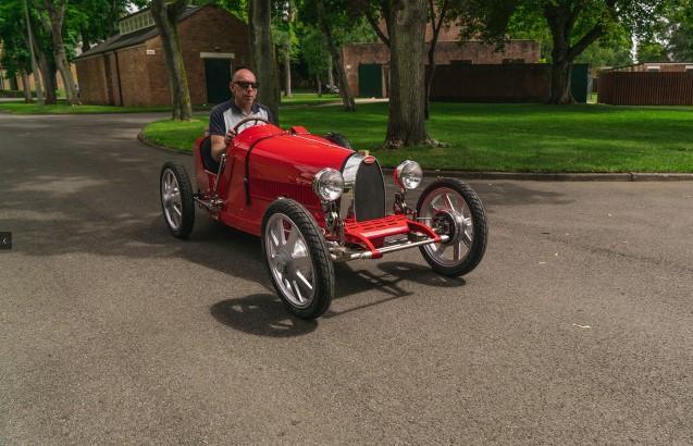Компанія Bugatti анонсувала «дитячий» електроавтомобіль за $ 35 000