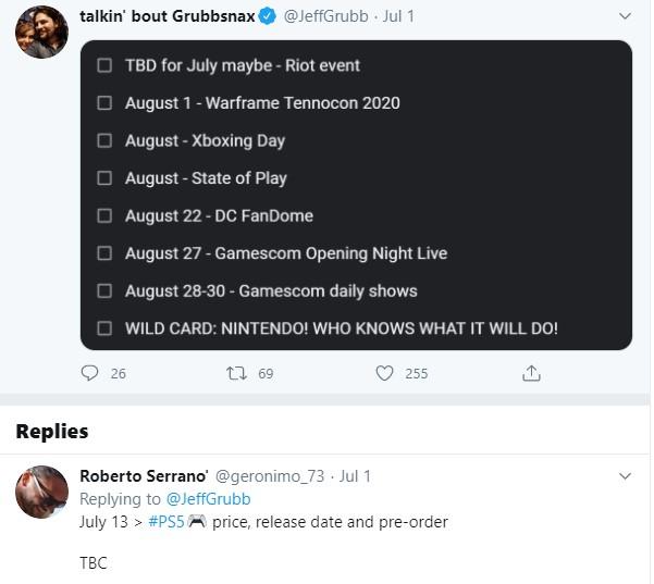 Інсайдер розкрив дату появи офіційних цін на PlayStation 5