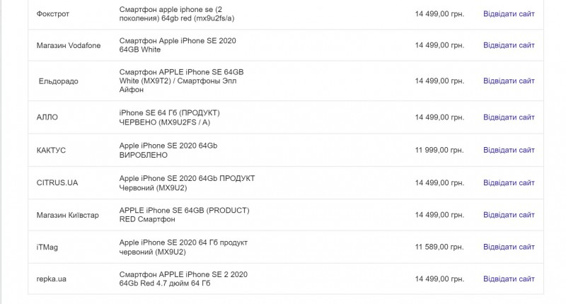 Бюджетный iPhone SE 2 значительно подешевел