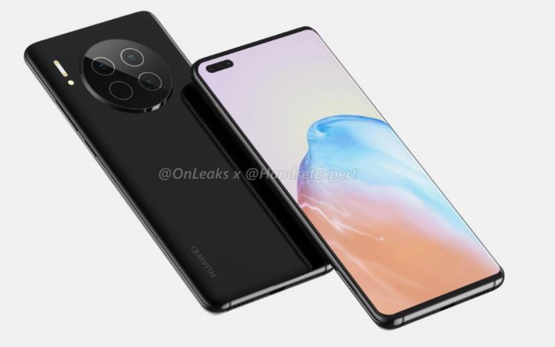 Мабуть майбутня модель Huawei Mate 40 5G
