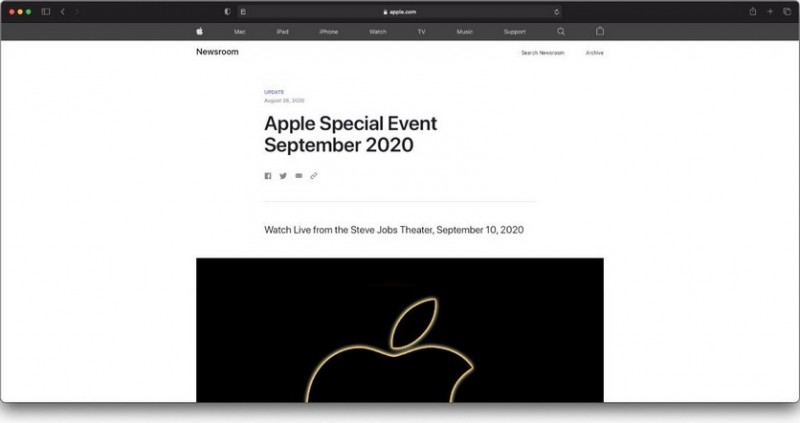 Apple случайно объявила дату презентации iPhone 12