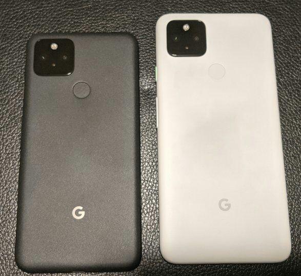 Google Pixel 5 и Pixel 4a 5G показали на фото