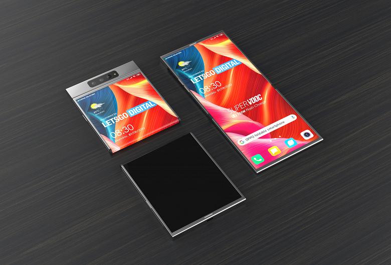 Oppo показала качественные фотографии нового необычного смартфона
