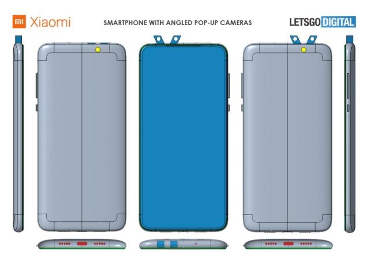 Компания Xiaomi запатентовала смартфон с очень необычной камерой