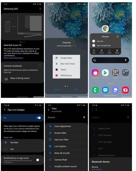 Так выглядит новая программная оболочка для смартфонов Samsung