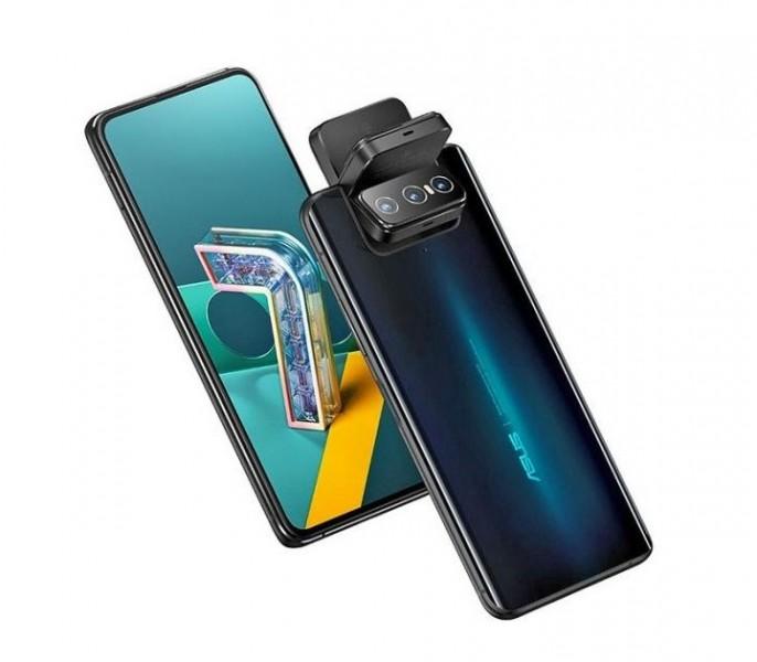 Asus представляет смартфон с поворотным модулем камеры за €699