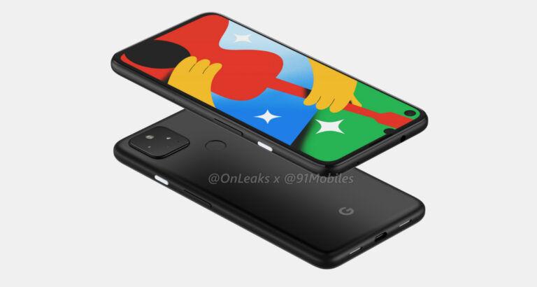 Стали известны все характеристики Google Pixel 4a 5G