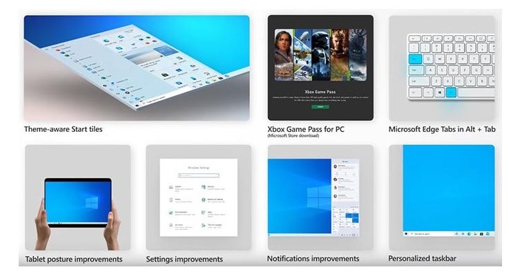 Microsoft презентує друге масштабне оновлення Windows 10 за рік: оновлене меню «Пуск» та браузер Edge на базі Chromium