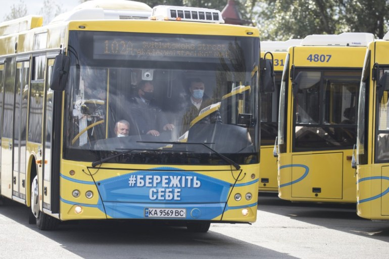 У Києві на маршрут випустили ще 50 нових автобусів МАЗ