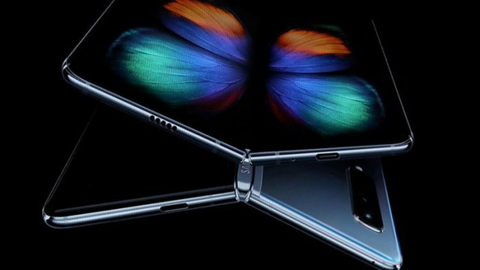 Samsung патентує смартфон, який складається назовні Galaxy Z Fold Lite