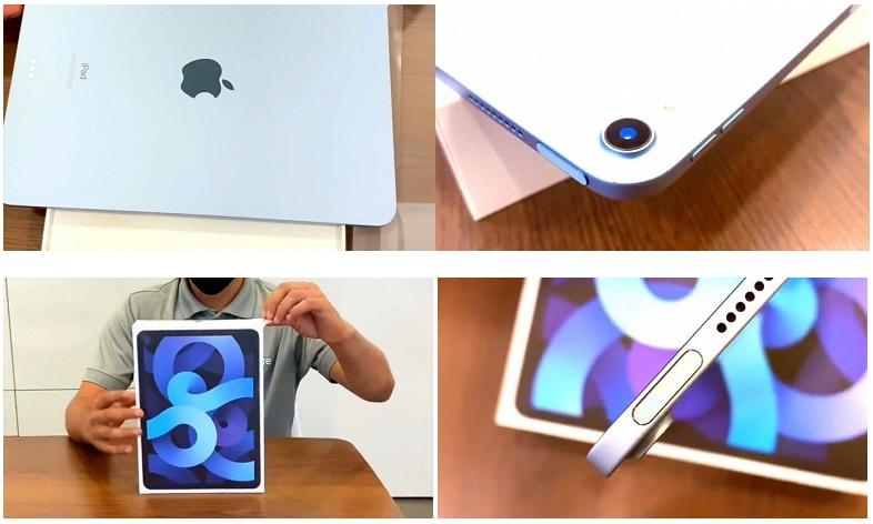 Перше розпакування планшета Apple iPad Air 4