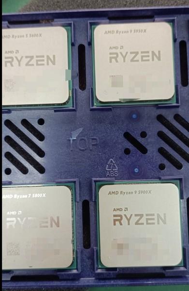 В Мережу «злили» перше «живе» фото процесорів AMD Ryzen 5000