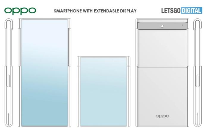 Компанія Oppo запатентувала смартфон з висувним екраном