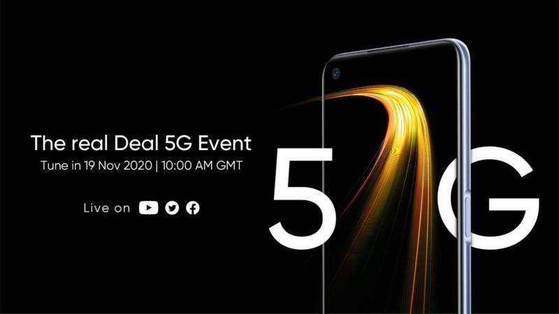 Названа дата анонса нового недорогого 5G-смартфона Realme 7