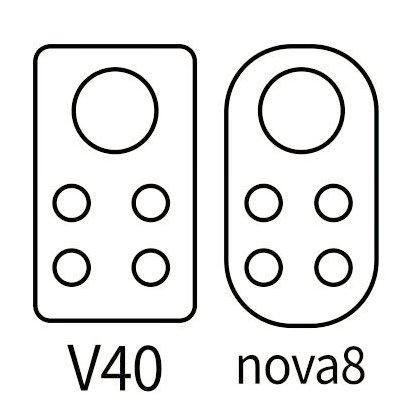 Опубліковані ескізи камер Huawei Nova 8 та Honor V40