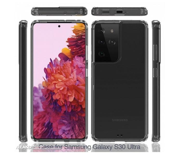 Перші фото Samsung Galaxy S21 Ultra в прозорому чохлі