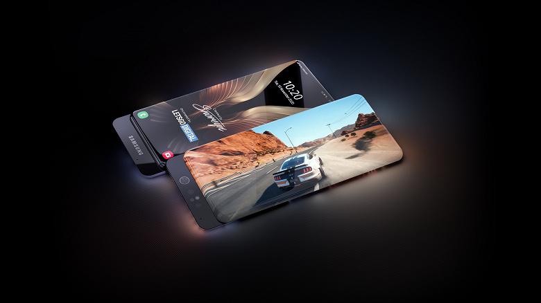 Samsung готує смартфон в стилі Xiaomi Mi Mix 3 та Xiaomi Mi Mix Alpha: якісні зображення та відео новинки