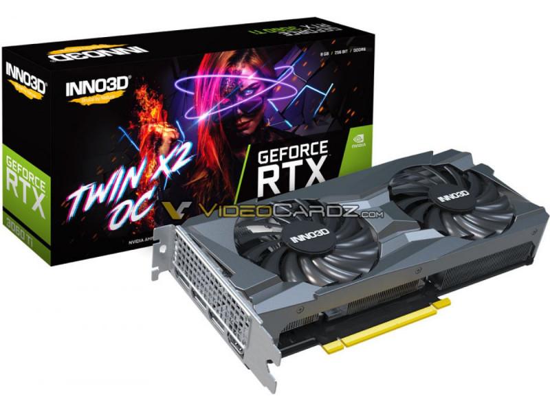 Дизайн і характеристики NVIDIA GeForce RTX 3060 Ti розкриті до анонсу