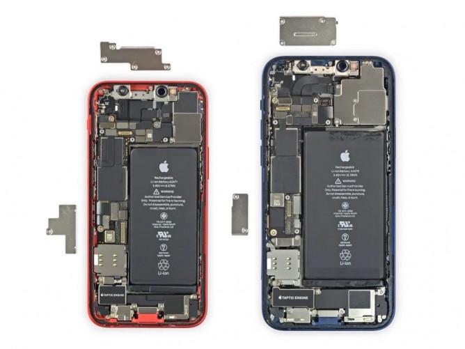 Фахівці iFixit розібрали iPhone 12 mini, але поки не оцінили ремонтопридатність