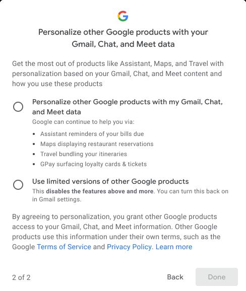 У Gmail тепер можна заборонити Google сканувати текст і зміст листів